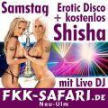Erotic Disco mit Live DJ und gratis Shisha