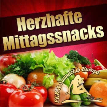 Snacks am Mittag
