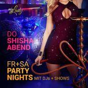 Party Nights mit DJs und Shows