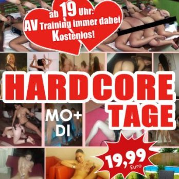 Hardcore-Tage wie im Porno, AV-Training kostenlos!