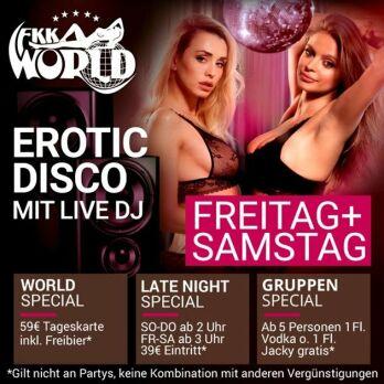 Erotic Disco mit Live DJ