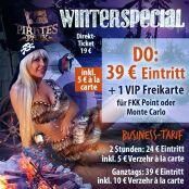 39 Euro Eintritt + 1 VIP-Freikarte für FKK Monte C